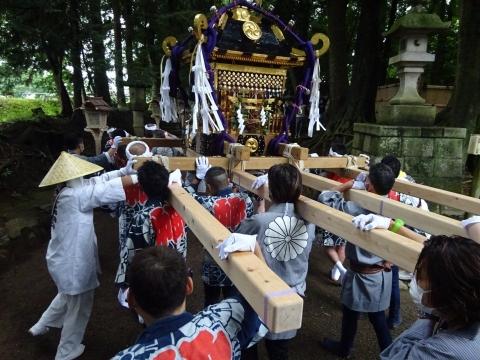 「八坂神社祇園祭」常陸國總社宮境内神輿渡御 (22)