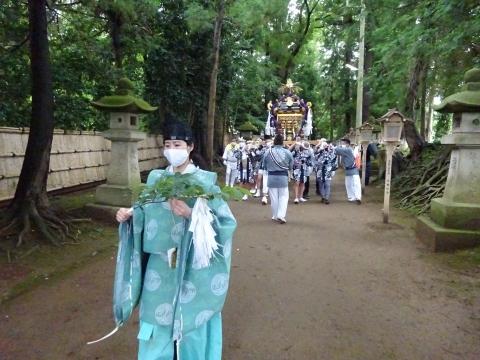 「八坂神社祇園祭」常陸國總社宮境内神輿渡御 (23)