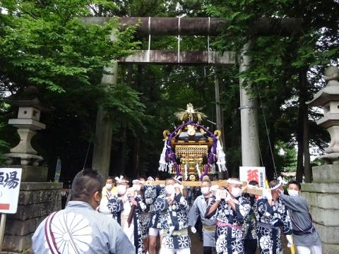 「八坂神社祇園祭」常陸國總社宮境内神輿渡御 (26)