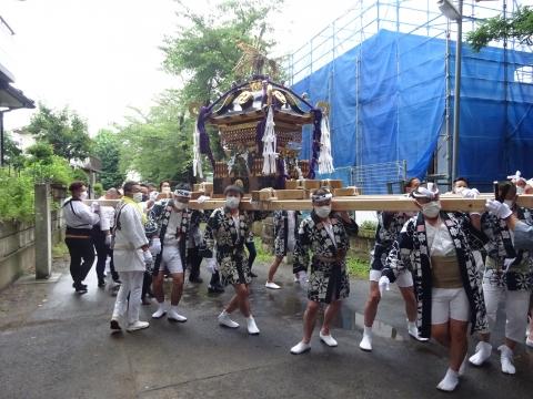 「八坂神社祇園祭」常陸國總社宮境内神輿渡御 (27)