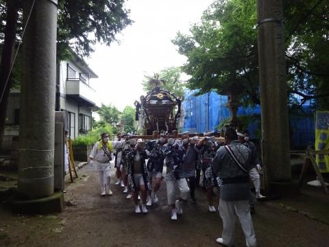 「八坂神社祇園祭」常陸國總社宮境内神輿渡御 (28)