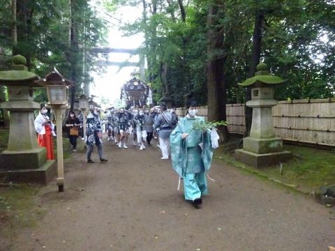 「八坂神社祇園祭」常陸國總社宮境内神輿渡御 (29)
