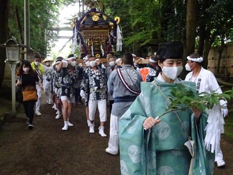「八坂神社祇園祭」常陸國總社宮境内神輿渡御 (31)