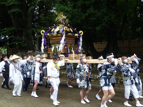 「八坂神社祇園祭」常陸國總社宮境内神輿渡御 (32)