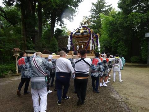 「八坂神社祇園祭」常陸國總社宮境内神輿渡御 (33)