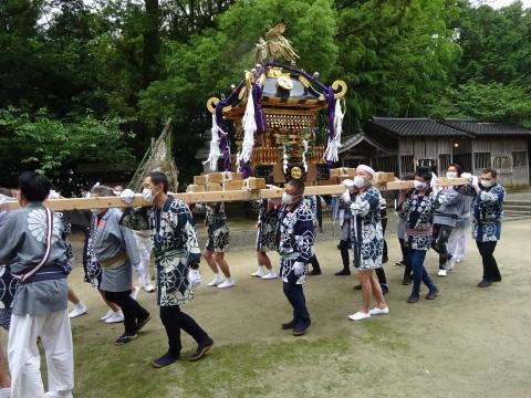 「八坂神社祇園祭」常陸國總社宮境内神輿渡御 (35)
