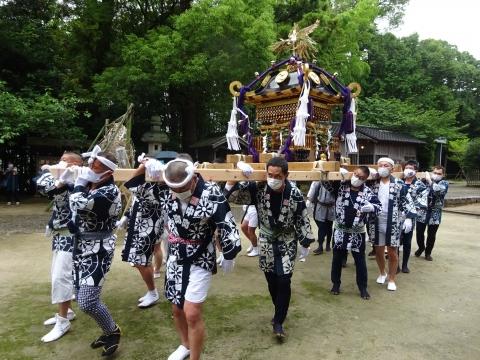 「八坂神社祇園祭」常陸國總社宮境内神輿渡御 (36)