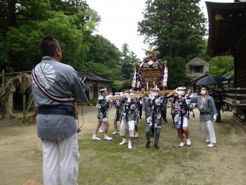 「八坂神社祇園祭」常陸國總社宮境内神輿渡御 (37)