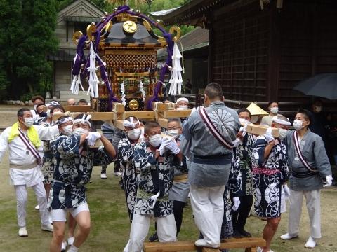 「八坂神社祇園祭」常陸國總社宮境内神輿渡御 (38)