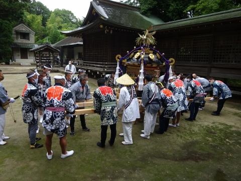 「八坂神社祇園祭」常陸國總社宮境内神輿渡御 (39)