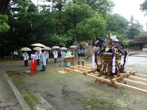 「八坂神社祇園祭」常陸國總社宮境内神輿渡御 (40)