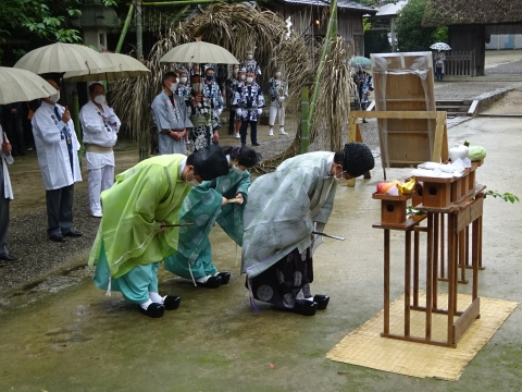 「八坂神社祇園祭」常陸國總社宮境内神輿渡御 (42)