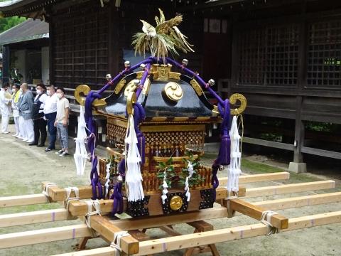 「八坂神社祇園祭」常陸國總社宮境内神輿渡御 (43)