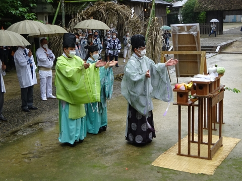 「八坂神社祇園祭」常陸國總社宮境内神輿渡御 (44)