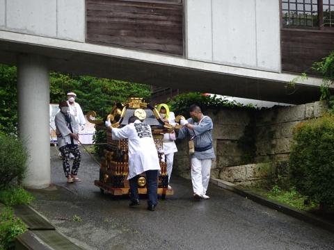 「八坂神社祇園祭」常陸國總社宮境内神輿渡御 (46)