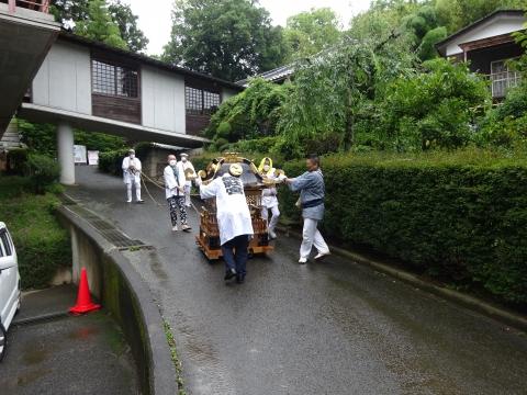 「八坂神社祇園祭」常陸國總社宮境内神輿渡御 (47)