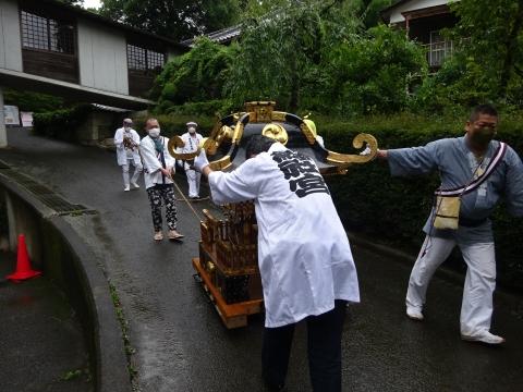 「八坂神社祇園祭」常陸國總社宮境内神輿渡御 (49)