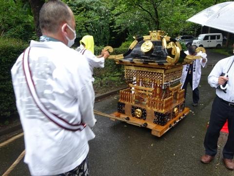 「八坂神社祇園祭」常陸國總社宮境内神輿渡御 (50)