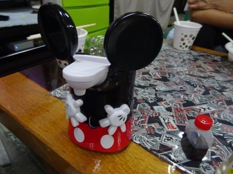 「ミッキーデザイン ミューズノータッチの自動泡ハンドソープ」②