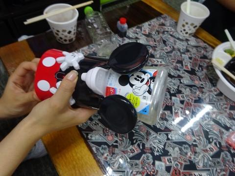 「ミッキーデザイン ミューズノータッチの自動泡ハンドソープ」④