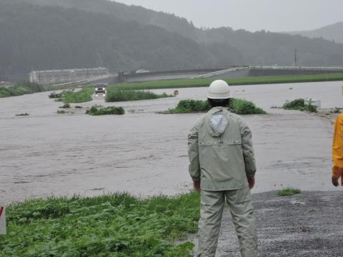 「恋瀬川氾濫対策の為の、光安寺橋架け替え工事についての「地元説明会」⑦ (16)