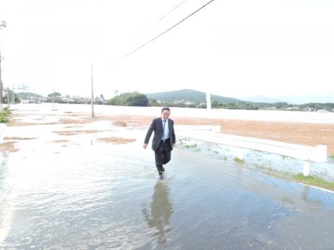 「恋瀬川氾濫対策の為の、光安寺橋架け替え工事についての「地元説明会」⑧ (8)