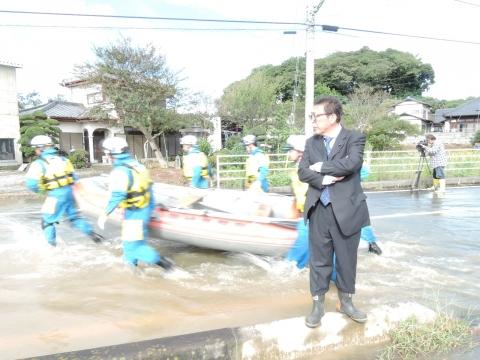 「恋瀬川氾濫対策の為の、光安寺橋架け替え工事についての「地元説明会」⑨ (2)