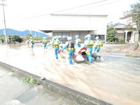 「恋瀬川氾濫対策の為の、光安寺橋架け替え工事についての「地元説明会」⑨ (3)