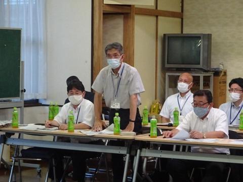 「恋瀬川氾濫対策の地元説明会」片野地区集会場⑦