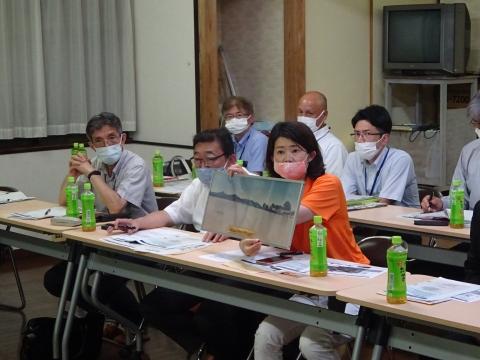 「恋瀬川氾濫対策の地元説明会」片野地区集会場⑩