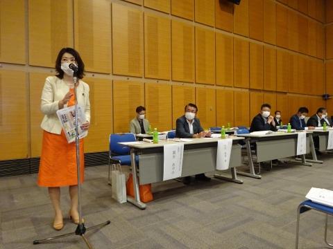 「自由民主党茨城第6区選挙支部」総会①