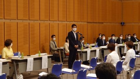 「自由民主党茨城第6区選挙支部」総会④