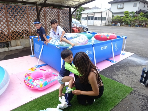 「TOITAFAMILYプール開き大会」 (5)