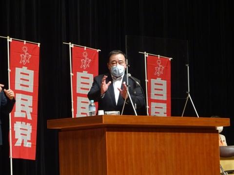 「自民党・公明党合同時局講演会」水戸市ヒロサワシティー会館④