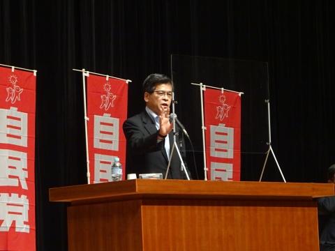 「自民党・公明党合同時局講演会」水戸市ヒロサワシティー会館⑤