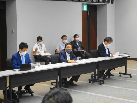「茨城県議会災害対策会議が緊急開催されました。」 (3)