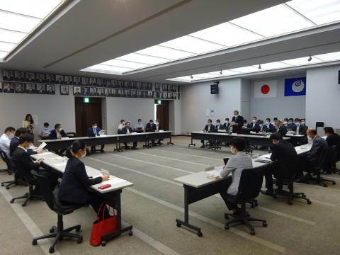 「茨城県議会災害対策会議が緊急開催されました。」 (6)