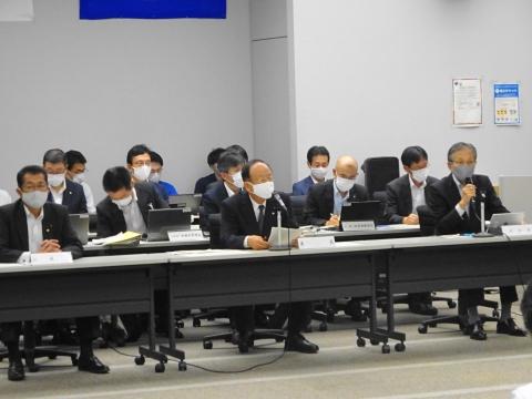 「茨城県議会災害対策会議が緊急開催されました。」 (5)