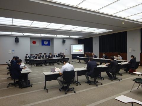 「茨城県議会災害対策会議が緊急開催されました。」 (8)