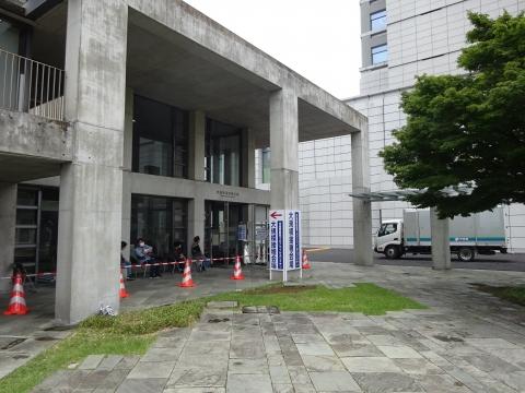 「茨城県庁福利厚生棟で、2回目のコロナウイルスワクチンを接種しました。」 (9)