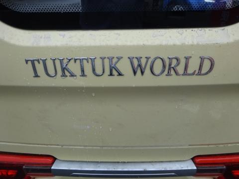 """「電動バイク""""TUKTUK""""に乗ってみました!」⑦1"""