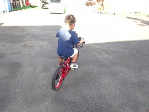 「玲央くんが自転車に乗れるようになりました!」③