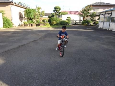 「玲央くんが自転車に乗れるようになりました!」⑥