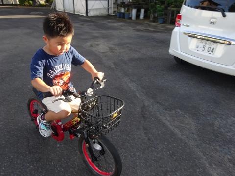 「玲央くんが自転車に乗れるようになりました!」⑦