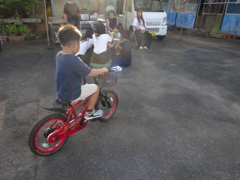 「玲央くんが自転車に乗れるようになりました!」⑧