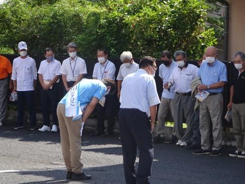 「茨城県知事選挙「大井川和彦」知事候補、石岡市内遊説活動」⑨