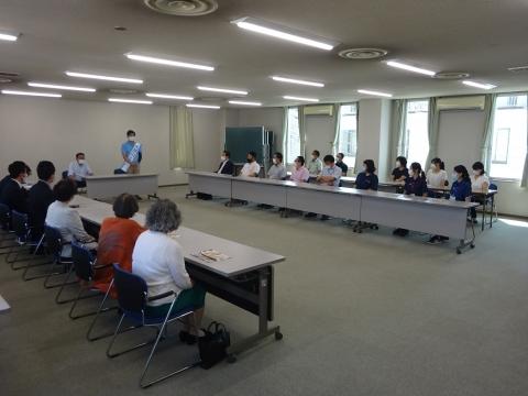 「茨城県知事選挙「大井川和彦」知事候補、石岡市内遊説活動」⑬