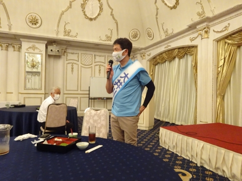「茨城県知事選挙「大井川和彦」知事候補、石岡市内遊説活動」㉓