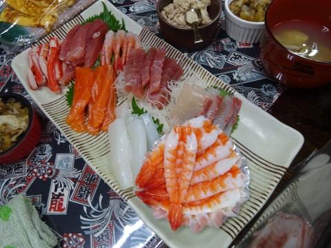 「手巻き寿司パーティーをやりました。」①
