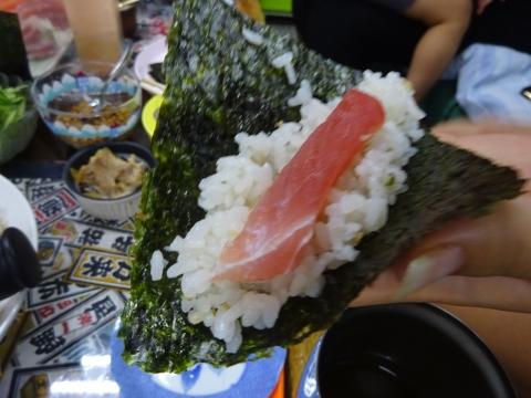 「手巻き寿司パーティーをやりました。」⑩